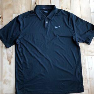 Nike Tiger Woods Dri Fit Golf Shirt Size L